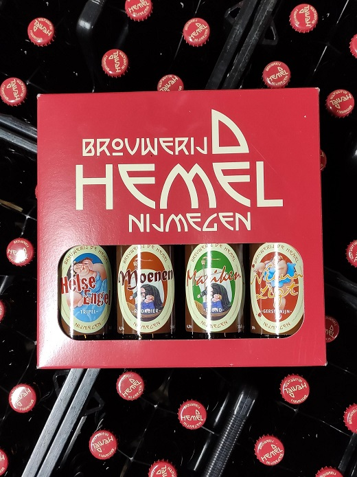 Kadoverpakking 4 bier